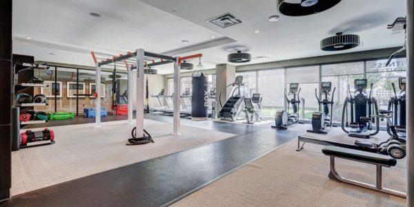 fitness center design